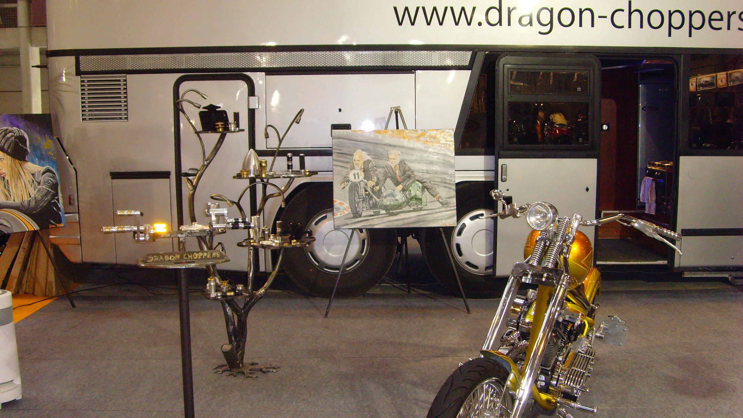 dragon choppers premier constructeur fran ais de motos customs homologu s salon de la moto et. Black Bedroom Furniture Sets. Home Design Ideas